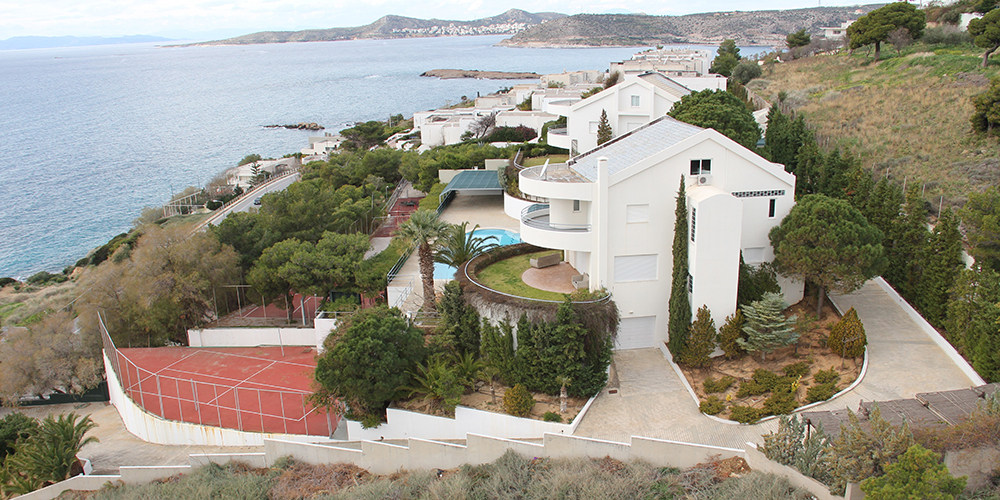 Residential Property in Greece For Sale - Top View of the property