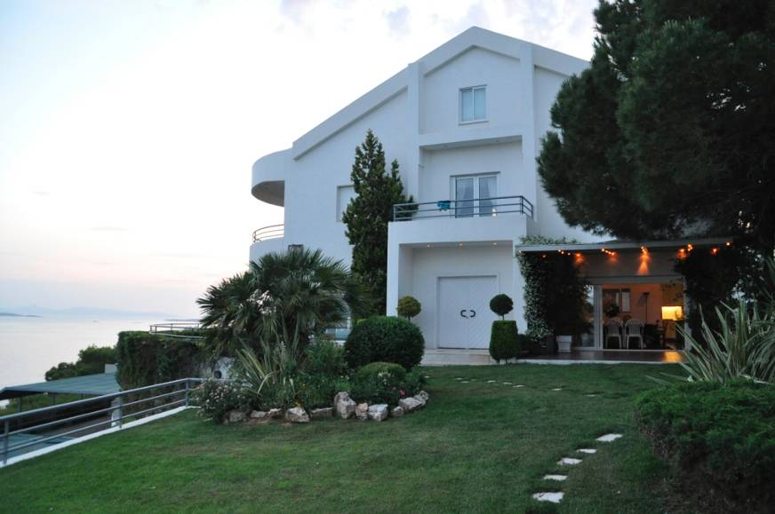 Residential Property House for Sale in Greece - View from the outside garden